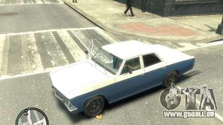 Chevrolet Chevelle 1966 für GTA 4