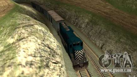 San Andreas Beta Train Mod pour GTA San Andreas
