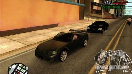 Cadillac XLR pour GTA San Andreas