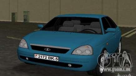 Lada Priora berline avec hayon arrière pour GTA Vice City