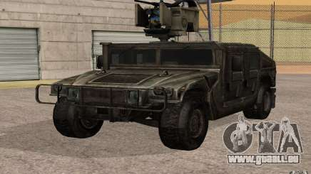 Hummer H1 from Battlefield 3 für GTA San Andreas