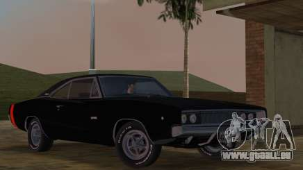 Dodge Charger 426 R/T 1968 v2.0 pour GTA Vice City