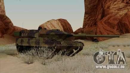 Leopard 2A6 pour GTA San Andreas