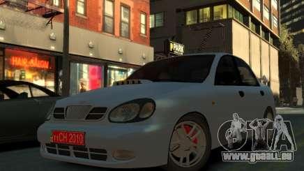 Daewoo Lanos pour GTA 4