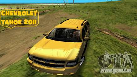 Chevrolet Tahoe 2011 für GTA Vice City