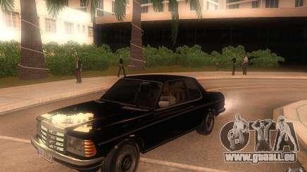 Mercedes Benz 280 CE W123 1986 pour GTA San Andreas