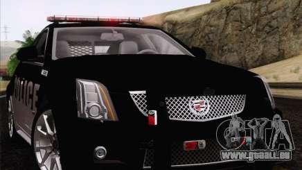 Cadillac CTS-V Police Car für GTA San Andreas