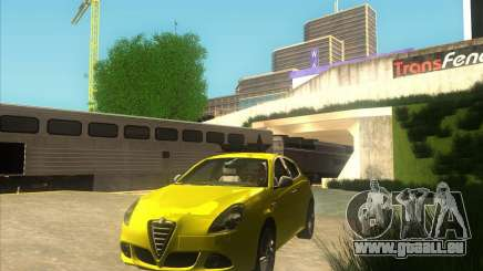 Alfa Romeo Giulietta QV 2011 pour GTA San Andreas