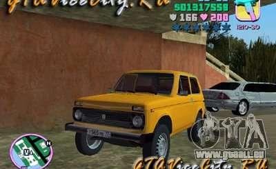 Der VAZ Niva 21213 für GTA Vice City