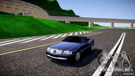 Mercedes SL 500 AMG 1995 pour GTA 4