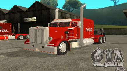 Peterbilt 379 Custom Coca Cola pour GTA San Andreas