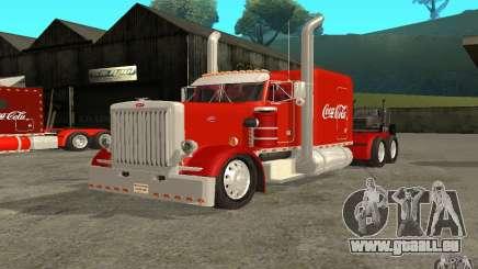 Peterbilt 379 Custom Coca Cola für GTA San Andreas