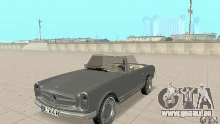 Mercedes-Benz 280SL (Matt) für GTA San Andreas