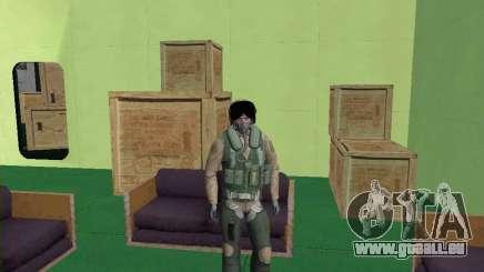 Pilote militaire pour GTA San Andreas