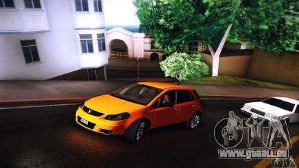 Suzuki SX4 Sportback Black 2011 pour GTA San Andreas