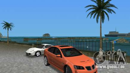 Pontiac G8 GXP für GTA Vice City