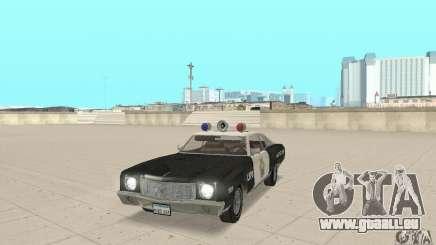 Chevrolet Monte Carlo 1970 Police für GTA San Andreas
