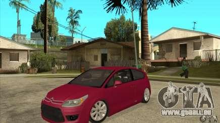 Citroen C4 VTS Coupe 2009 pour GTA San Andreas