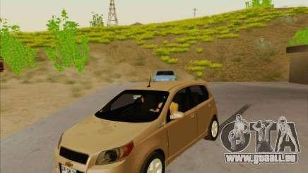 Chevrolet Aveo LT für GTA San Andreas