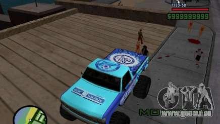 Un monstre dans le style de FC ZENIT pour GTA San Andreas