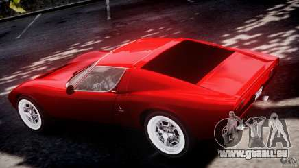 Lamborghini Miura P400 1966 pour GTA 4