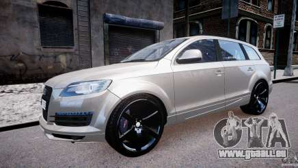 Audi Q7 LED Edit 2009 pour GTA 4