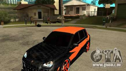 Porsche Cayenne Turbo S Tunned	 pour GTA San Andreas