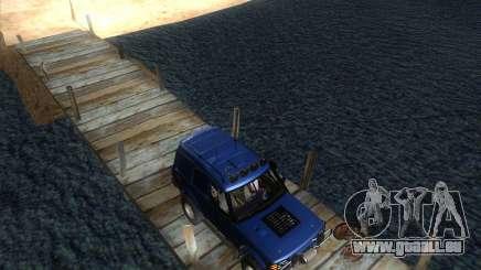 Landrover Discovery 2 Rally Raid für GTA San Andreas