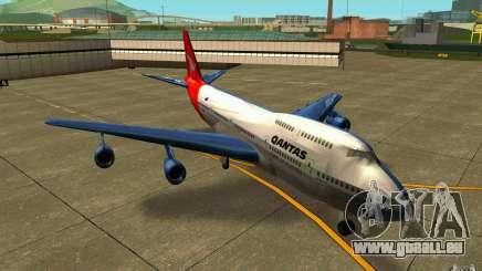 Boeing Qantas 747-400 pour GTA San Andreas