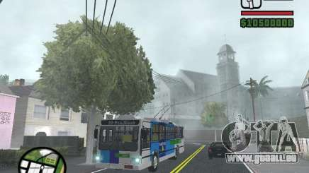 Cobrasma Monobloco Patrol II Trolerbus pour GTA San Andreas