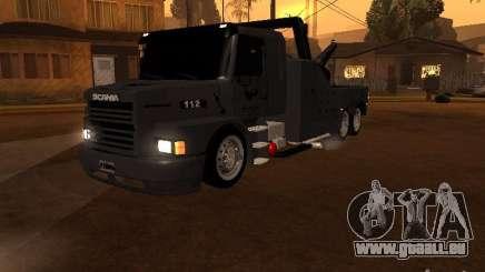 Scania 112H Gruas Fenix für GTA San Andreas