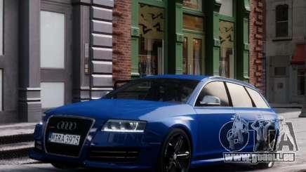 Audi RS6 Avant pour GTA 4