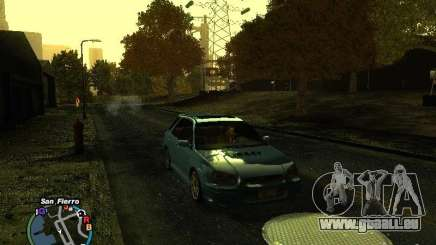 Subaru Impreza Wagon 2004 - 2002 pour GTA San Andreas