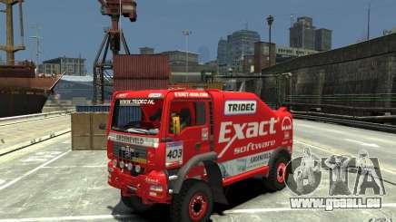 MAN TGA Rally Truck pour GTA 4