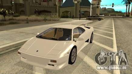 Lamborghini Diablo VT 1995 V2.0 pour GTA San Andreas