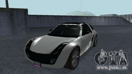 Smart Roadster Coupe pour GTA San Andreas