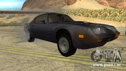 Pontiac Firebird Trans Am Turbo 1980 für GTA San Andreas