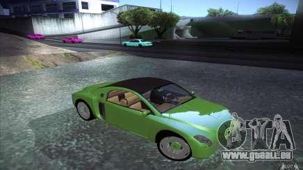 Renault Fiftie Concept für GTA San Andreas