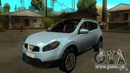 Nissan Qashqai 2011 für GTA San Andreas