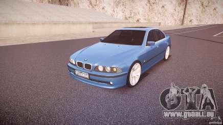 BMW 530I E39 e63 white wheels pour GTA 4