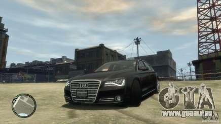 Audi A8 V8 FSI pour GTA 4