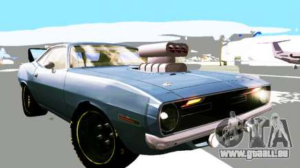 Plymouth Cuda AAR 340 1970 Muscle Cars pour GTA San Andreas