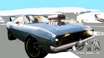 Plymouth Cuda AAR 340 1970 Muscle Cars für GTA San Andreas