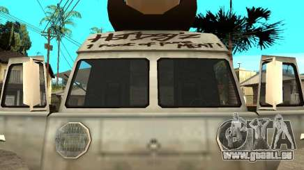 Nettoyez la vitre dans le Hotdog-e pour GTA San Andreas