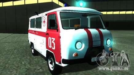 UAZ 3962 Krankenwagen für GTA San Andreas