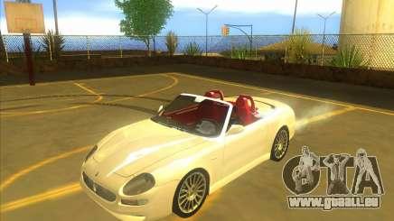 Maserati Spyder Cambiocorsa pour GTA San Andreas