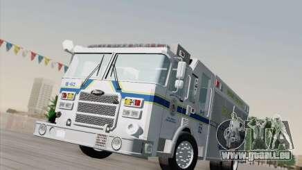 Pierce Fire Rescues. Bone County Hazmat pour GTA San Andreas