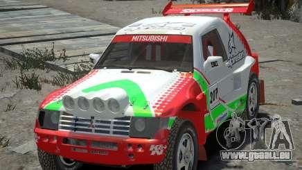Mitsubishi Pajero Proto Dakar EK86 vinyle 2 pour GTA 4