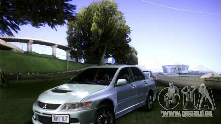 Mitsubishi Lancer Evolution VIII MR für GTA San Andreas