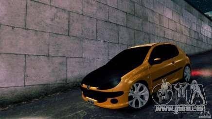 Peugeot 206 für GTA 4